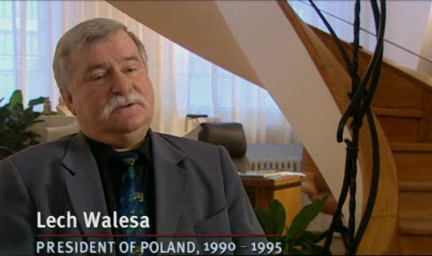 Lech Walesa - Commanding Heights